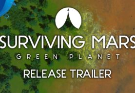 Surviving Mars: Green Planet - Launch Trailer | PS4