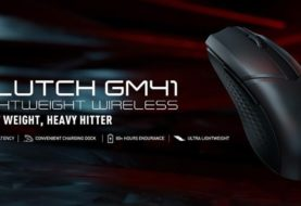 MSI Launches Clutch GM41 Lightweight Wireless Gaming Mouse